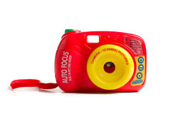 De camera van het stuk speelgoed Stock Foto