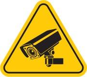 De camera van het toezicht Stock Foto