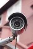 De Camera van het toezicht, kabeltelevisie Stock Afbeelding