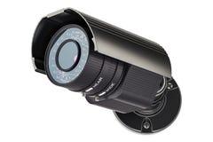 De camera van het veiligheidstoezicht, het 3D teruggeven Royalty-vrije Stock Afbeeldingen