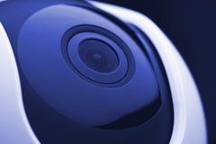 De camera van de huisveiligheid lense royalty-vrije stock fotografie