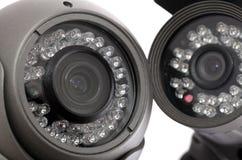 De camera van kabeltelevisie stock foto