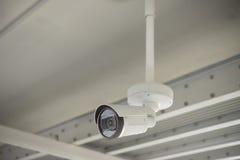 De camera van kabeltelevisie in de bureaubouw Royalty-vrije Stock Afbeelding