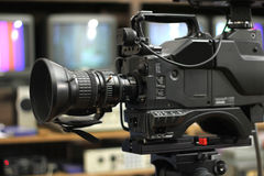 De Camera van Proffessional stock afbeelding