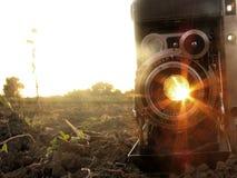 De Camera van Retdo Royalty-vrije Stock Foto