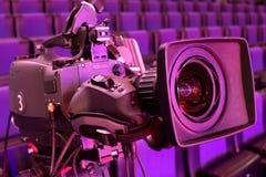 De camera van TV Royalty-vrije Stock Afbeelding