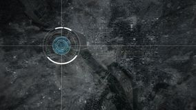 De cameraaftasten Washington van de toezichthommel vector illustratie