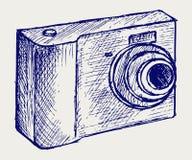 De cameraillustratie van de foto vector illustratie