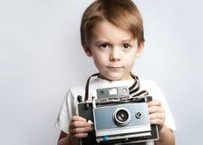 De camerajong geitje van Insant Royalty-vrije Stock Fotografie