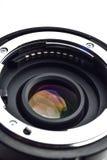 De cameralens zet met cpu op Royalty-vrije Stock Afbeeldingen
