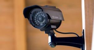 De cameraopname van het veiligheidstoezicht stock video