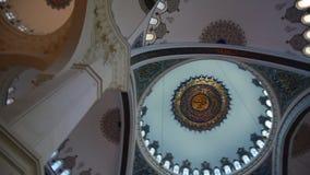 De Camlica-Moskee Ä°stanbul Turkije stock footage