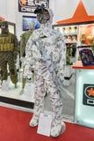 De camouflage van de kostuumwinter Stock Afbeeldingen