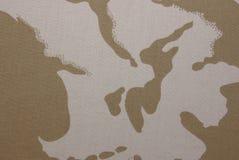 De camouflage van de woestijn Stock Afbeelding