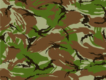 De camouflage van het leger Stock Afbeelding