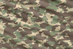 De camouflagemateriaal van Camo Royalty-vrije Stock Foto