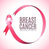De campagne van borstkanker stock illustratie