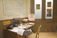 De campagnebureau van Kennedy royalty-vrije stock fotografie