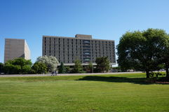 De campus van de Universiteit van de Staat van Iowa Royalty-vrije Stock Afbeeldingen