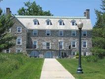 De Campus van de Universiteit van Middlebury royalty-vrije stock afbeelding