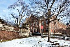 De campus van Harvard Royalty-vrije Stock Afbeeldingen