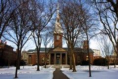 De campus van Harvard Royalty-vrije Stock Foto's
