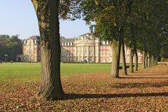 De campus van het kasteel Royalty-vrije Stock Afbeeldingen