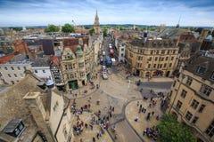 De campus van Oxford, Engeland Royalty-vrije Stock Afbeelding
