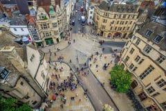 De campus van Oxford, Engeland Stock Fotografie