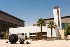 De campusmoskee van de Koning Abdullah University van Wetenschap en Technologie, Thuwal, Saudi-Arabië royalty-vrije stock fotografie
