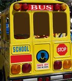 De Canadese Bus van de School stock foto's