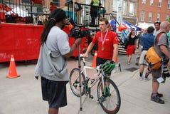 De Canadese het Cirkelen Kampioenschappen, Georgetown,  Stock Fotografie