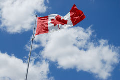 De Canadese Reeks van de Vlag Royalty-vrije Stock Foto