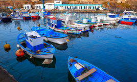 De Canarische Eilanden van de havenfuerteventura van Gr Cotillo royalty-vrije stock afbeeldingen