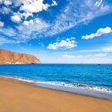 De Canarische Eilanden van het strandfuerteventura van Grantarajal Royalty-vrije Stock Afbeeldingen