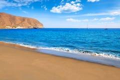 De Canarische Eilanden van het strandfuerteventura van Grantarajal Stock Foto's