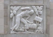 ` De Cane Cutter de ` par Edmond Amateis, Robert N C Nix, Sr Bâtiment et bureau de poste fédéraux photos stock