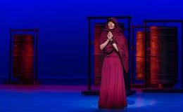 ` De Cangyangjiacuo del drama de la danza de la rueda- del rezo `` Imágenes de archivo libres de regalías