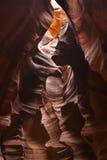 De Canion Arizona de V.S. 10 van de antilope Stock Afbeelding