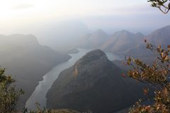 De Canion Mpumalanga Zuid-Afrika van de Blyderivier stock foto's