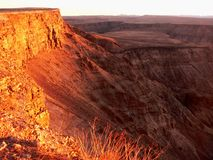 De canion Namibië van vissen royalty-vrije stock foto