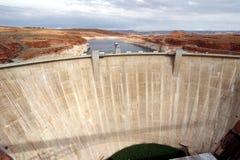De Canion Staudamm van de nauwe vallei royalty-vrije stock foto's