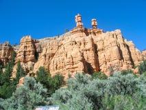 De Canion Utah van Zion Stock Fotografie