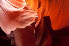 De canion van Antilope Stock Afbeeldingen