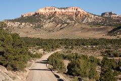 De Canion van Bryce van Landweg Royalty-vrije Stock Foto