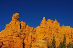 De Canion van Casto, Utah Stock Afbeeldingen