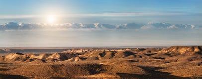 De Canion van Charyn in Kazachstan Royalty-vrije Stock Afbeelding