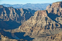 De Canion van Colorado, Arizona Royalty-vrije Stock Afbeeldingen