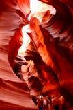 De Canion van de antilope Stock Afbeeldingen