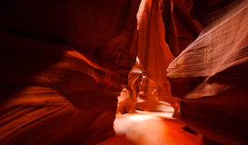 De Canion van de antilope Stock Foto